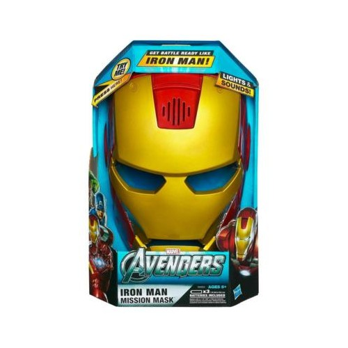 Avengers Iron Man Mission Mask