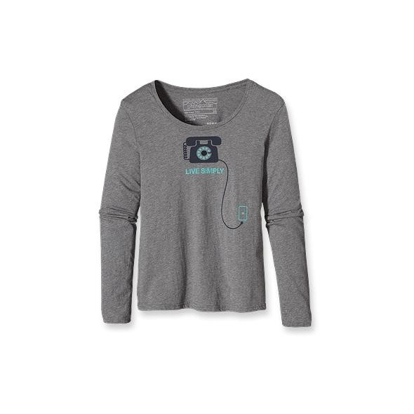 Mujeres Patagonia Long-Sleeved Live Simply